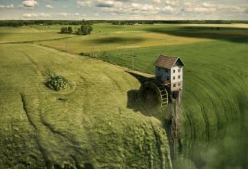 Proceso de composición fotográfica por Erik Johansson