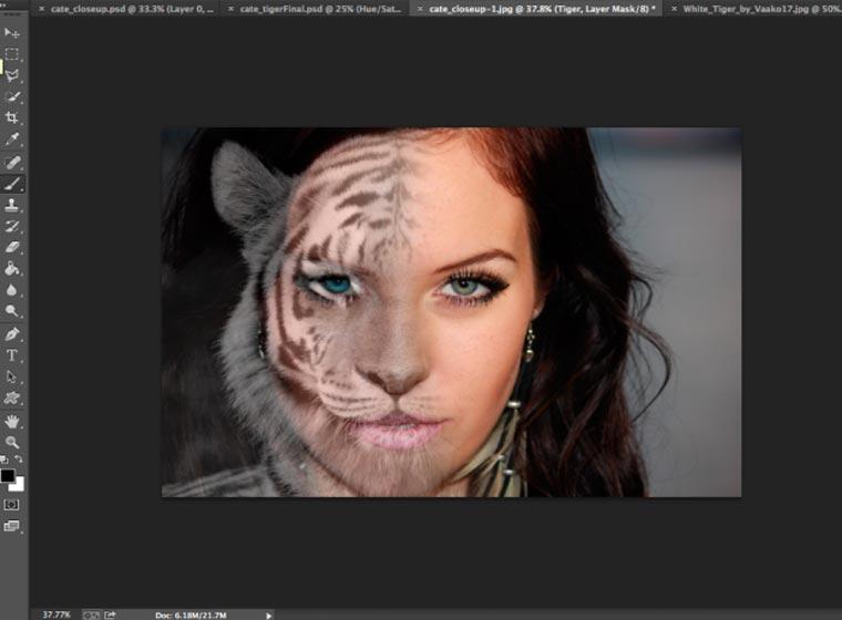morph con photoshop