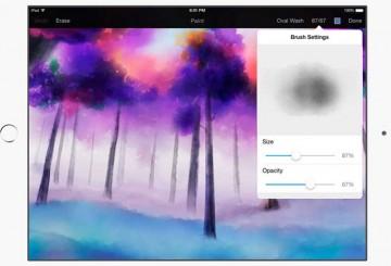 Pixelmator Aquarelle 1.1 para iPad