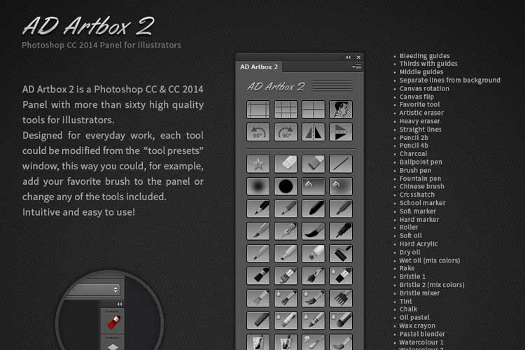 Ad artbox 2 herramientas de photoshop usadas por disney - Herramientas de photoshop ...