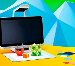 HP Sprout: Un Pc táctil con escáner 3D