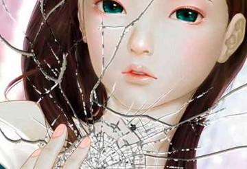 Pintar un reflejo en un espejo roto – Tutorial