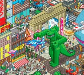 Pixel Art – 30 ejemplos buenísimos