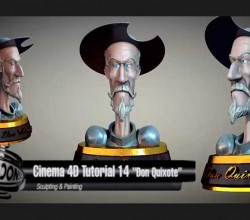 Tutorial de Cinema 4D – Don Quixote