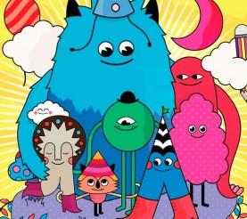 Tutorial de Illustrator – personajes coloridos