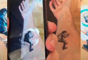Un Tatuaje que Cobra Vida con una App