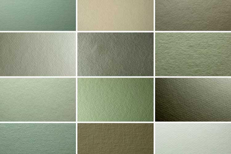 texturas de papel y lienzo