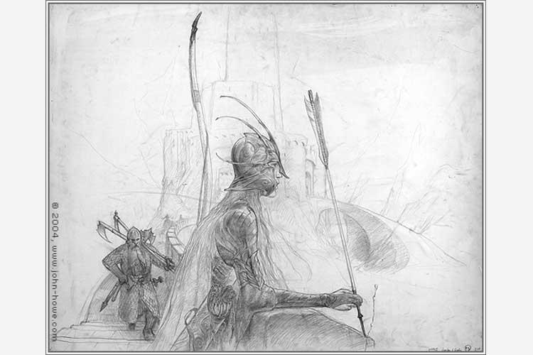 Custom Art John Howe (1)
