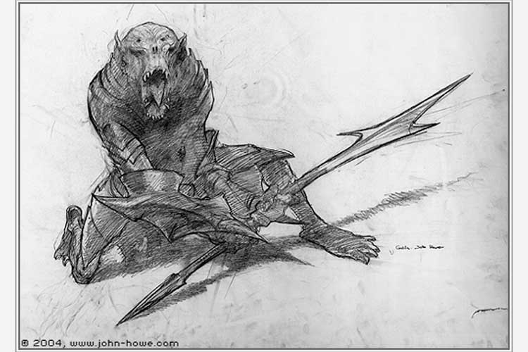 Custom Art John Howe (2)