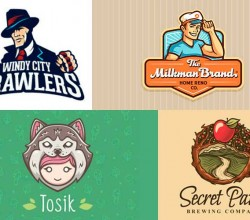 20 Logos Ilustrados que te Inspirarán
