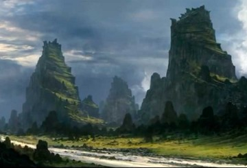 Tutorial de Feng Zhu – Paisaje de fantasía