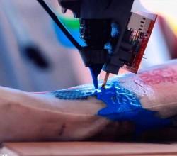 Tatuajes con una Impresora 3D