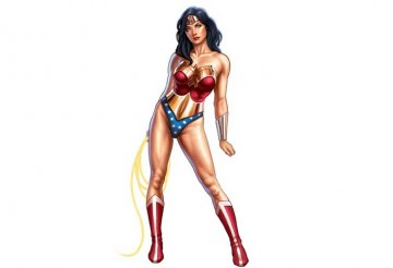 Tutorial de Pin-Up – Wonder Woman