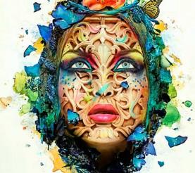 Cómo Crear un Retrato Abstracto en Photoshop